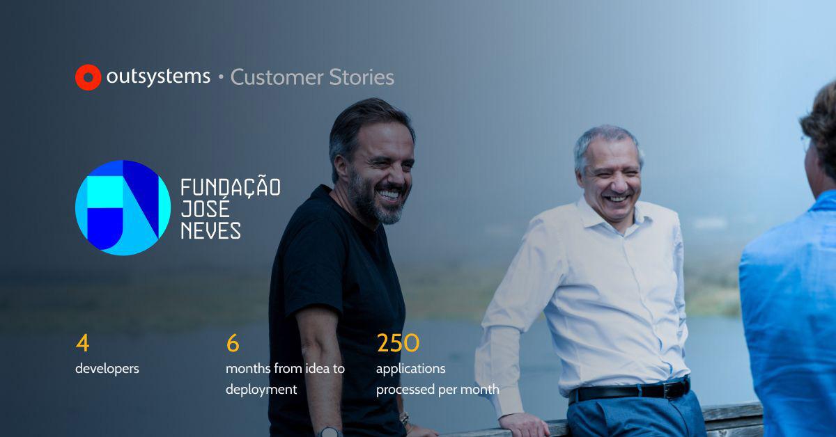 Aplicação askblue para a fundação José Neves